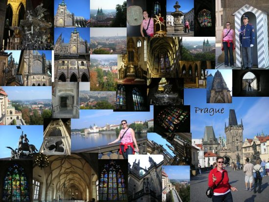 Prague: a collage of photos (2)