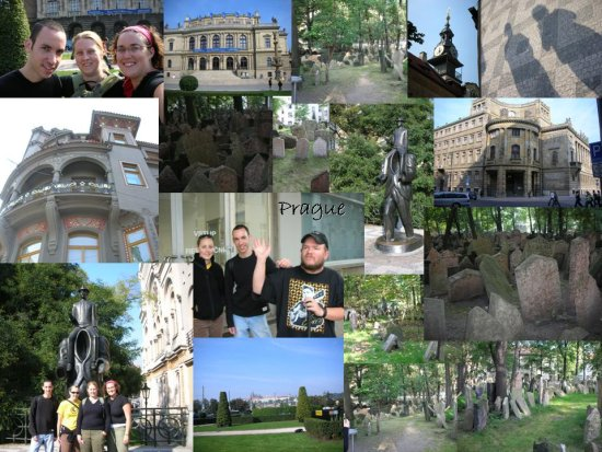 Prague: a collage of photos (3)
